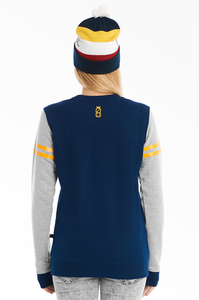 LUCKY DICE BLUZA NEW CREWNECK GIRL NAVY