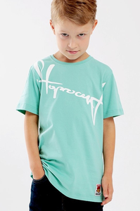 STOPROCENT KIDT T-SHIRT DOWNHILL MINT