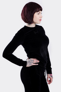 STOPROCENT BLUZA DAMSKA BDBK SOFTY BLACK
