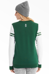 LUCKY DICE BLUZA NEW CREWNECK GIRL GREEN