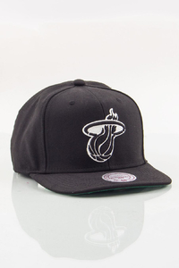 MITCHELL & NESS MIAMI HEAT BLACK