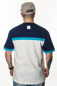 EL POLAKO T-SHIRT 3 COLORS CUT WHITE-NAVY