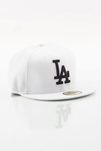 NEW ERA FULLCAP LA WHITE