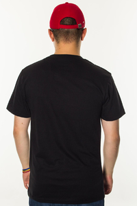 KOKA T-SHIRT BASIC LABEL BLACK