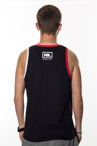 NEW BAD LINE TANK TOP CLASSIC BLACK RED
