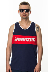 PATRIOTIC TANK-TOP FF BOX TOP
