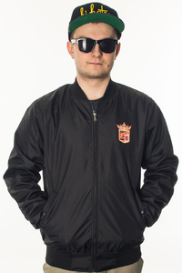 BOR KURTKA BOMBER NEW HERB BLACK