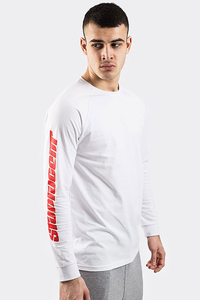 STOPROCENT LONGSLEEVE FUTURACER WHITE