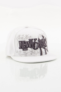 NEW ERA FULLCAP NEW YORK WHITE