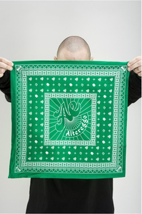 ALTEREGGO BANDANA GREEN