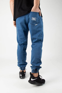 NEW BAD LINE JEANS JOGGER ICON LIGHT BLUE