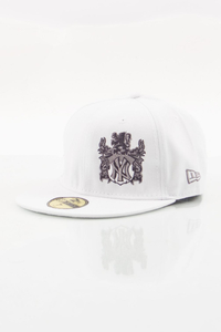NEW ERA FULLCAP NY HERB WHITE