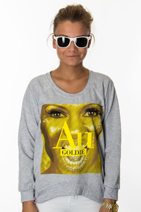EP.GIRLS BLUZA GOLDIE GREY