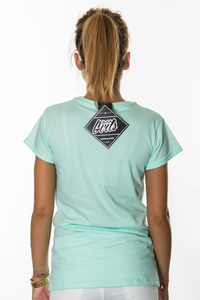 EP.GIRLS T-SHIRT GET HIGH MINT