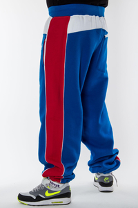 PLNY BAGGY BLUE-RED