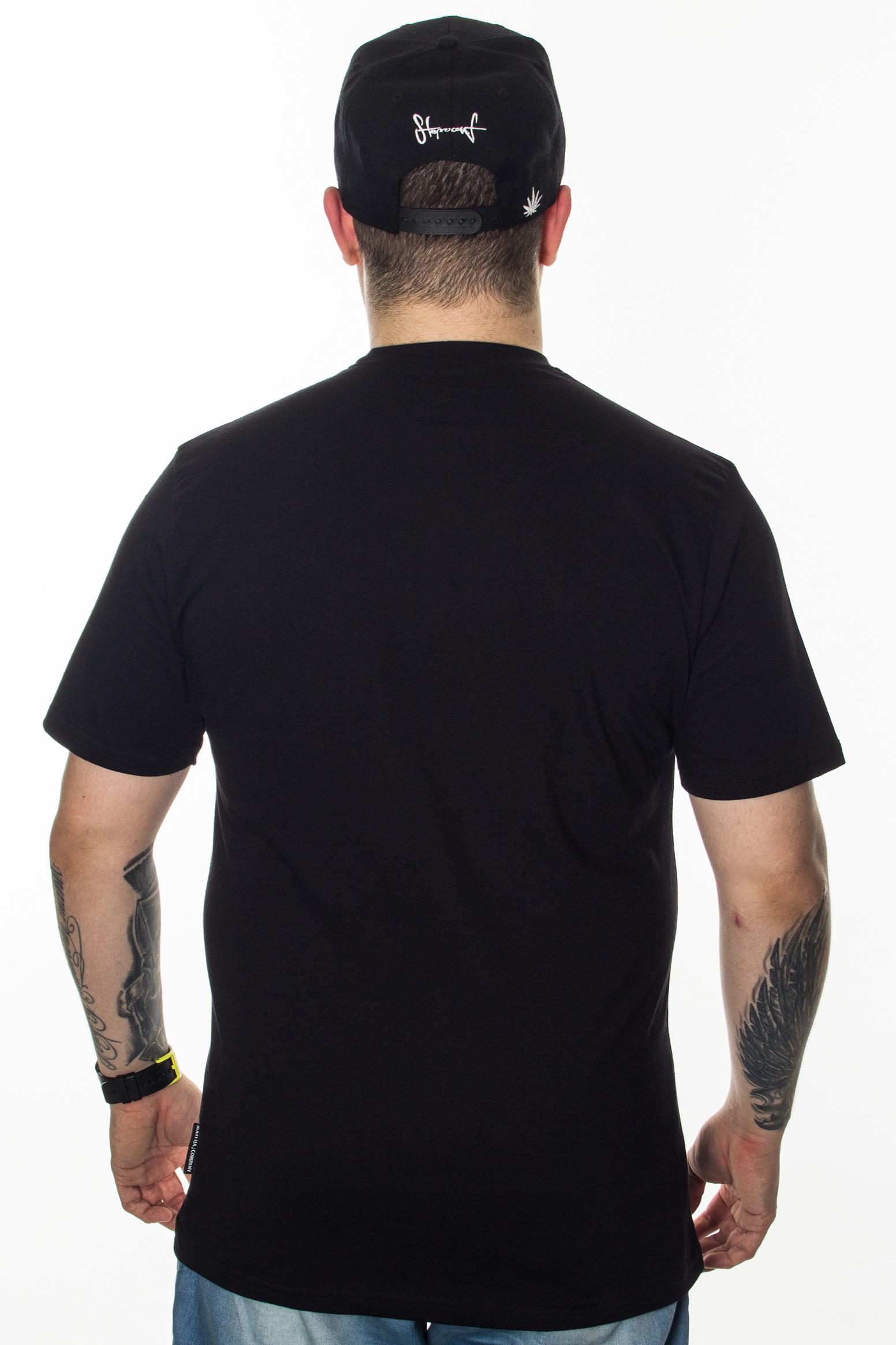 SB MAFFIJA T-SHIRT OUTLINES BLACK