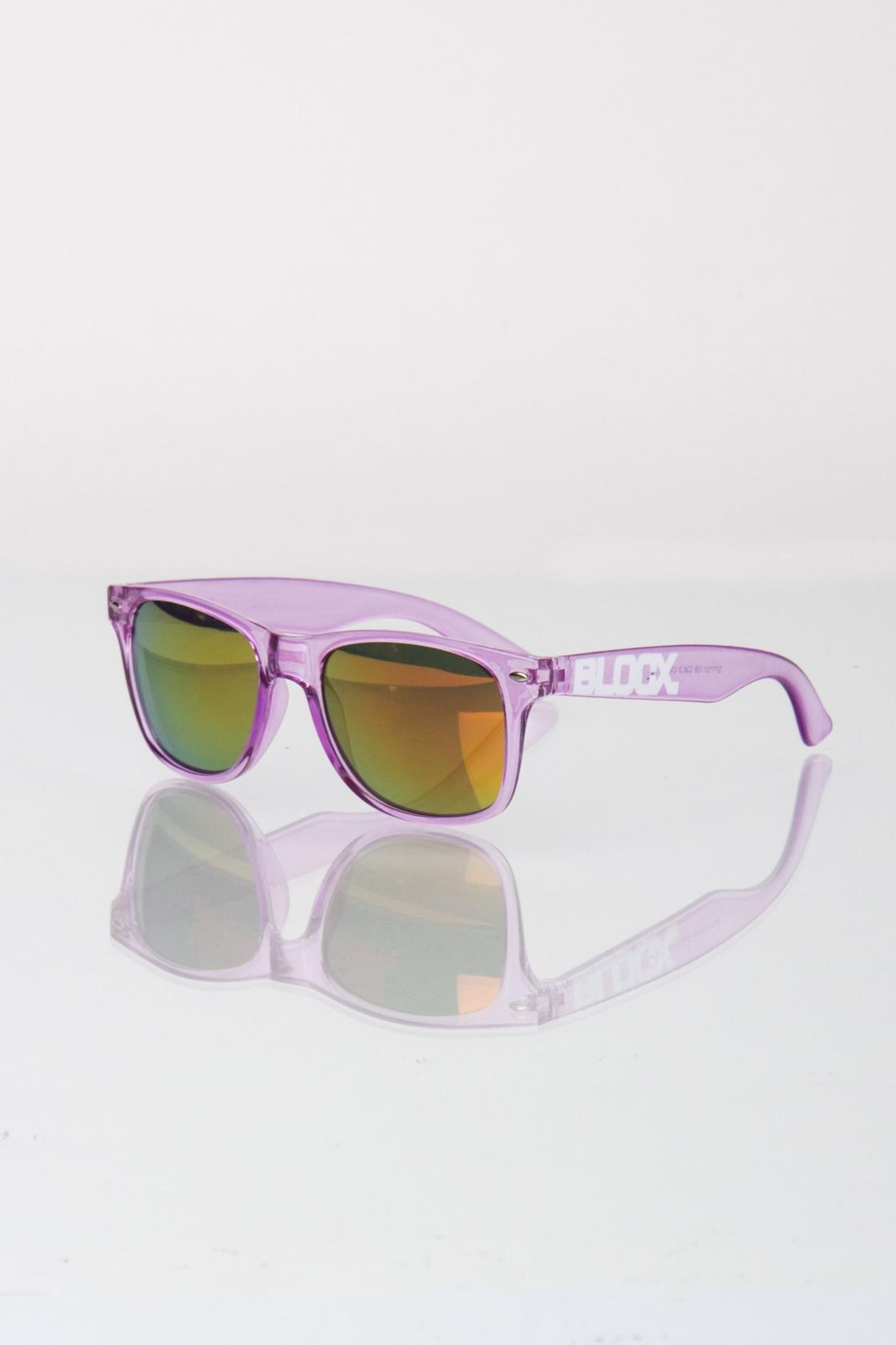 BLOCX CLEAR/VIOLET
