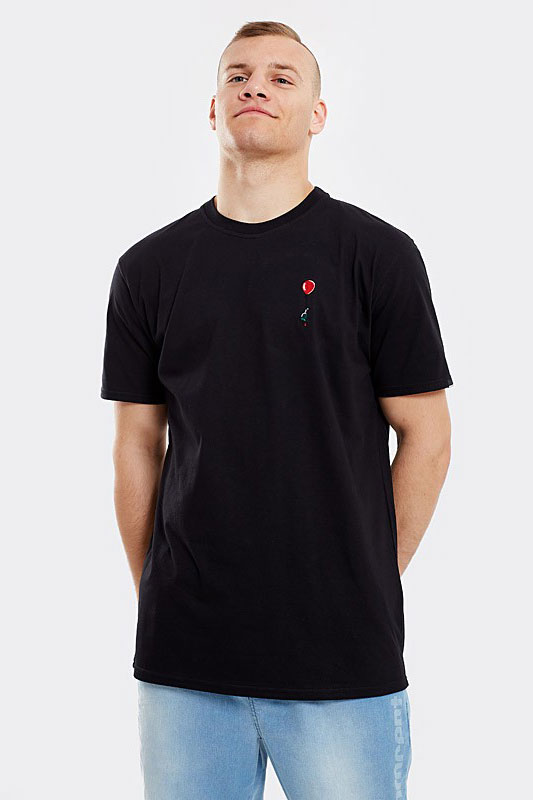 STOPROCENT T-SHIRT TMS TULIP BLACK