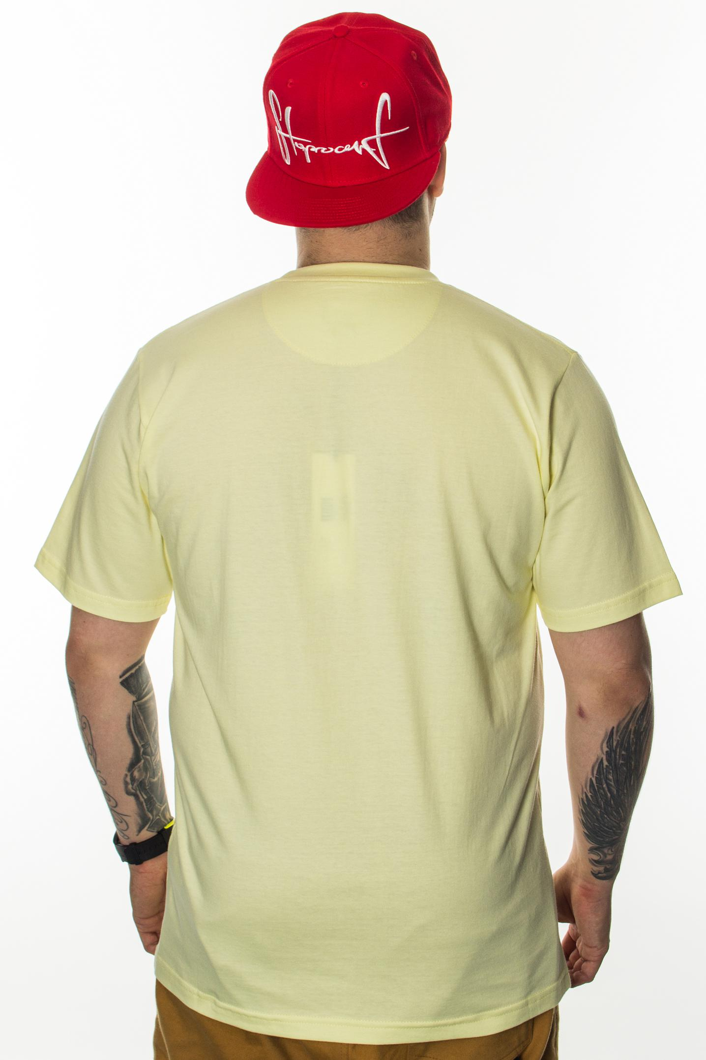 PROSTO T-SHIRT JDL TWO FISH YELLOW