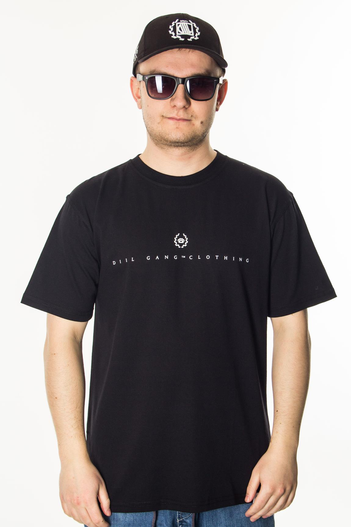 DIIL T-SHIRT RUSSELL BLACK