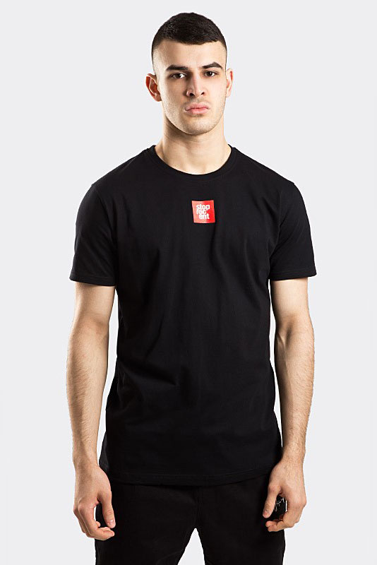 STOPROCENT T-SHIRT TMS BASECUBE BLACK